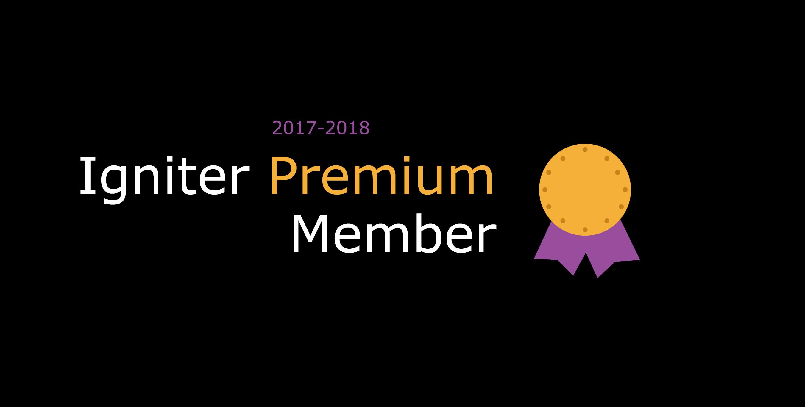 Igniter Premium Membership