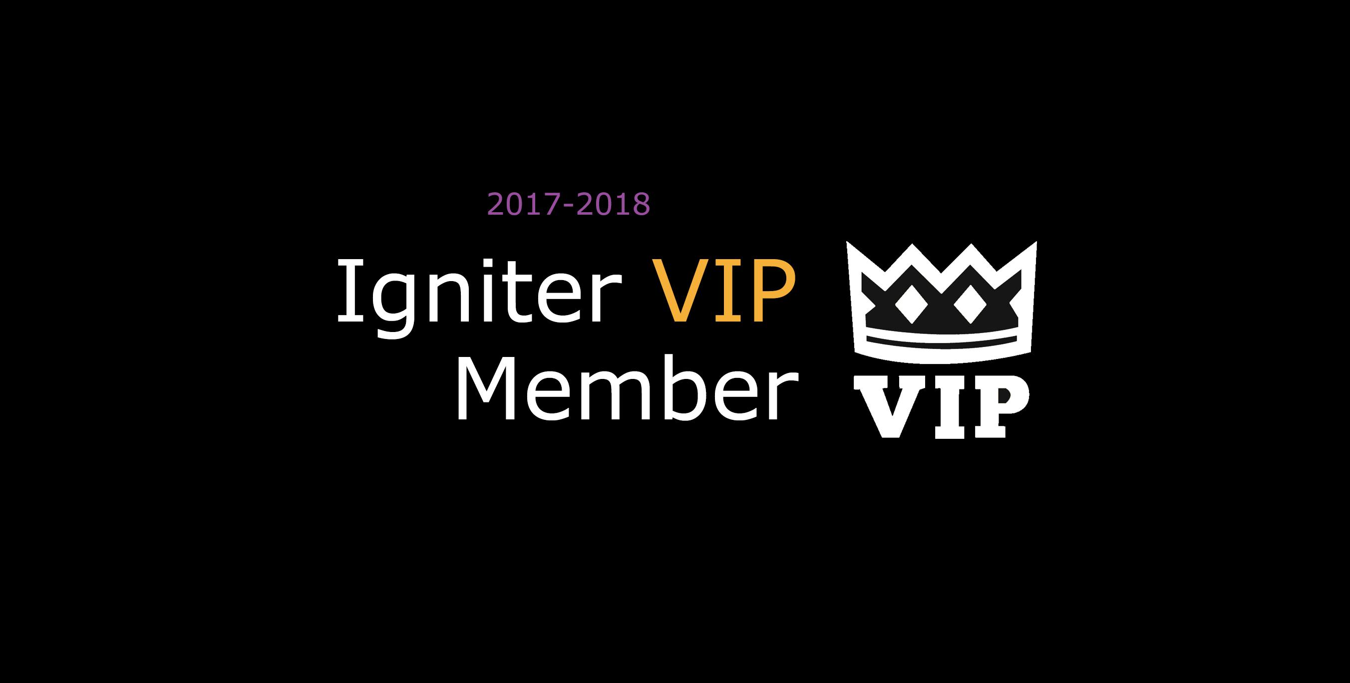 Igniter VIP Membership