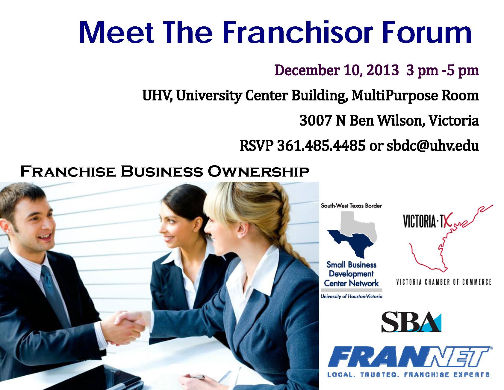Franchisor Forum Flyer