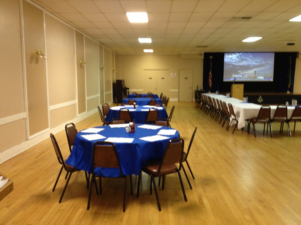 Alki Lodge Reception Room