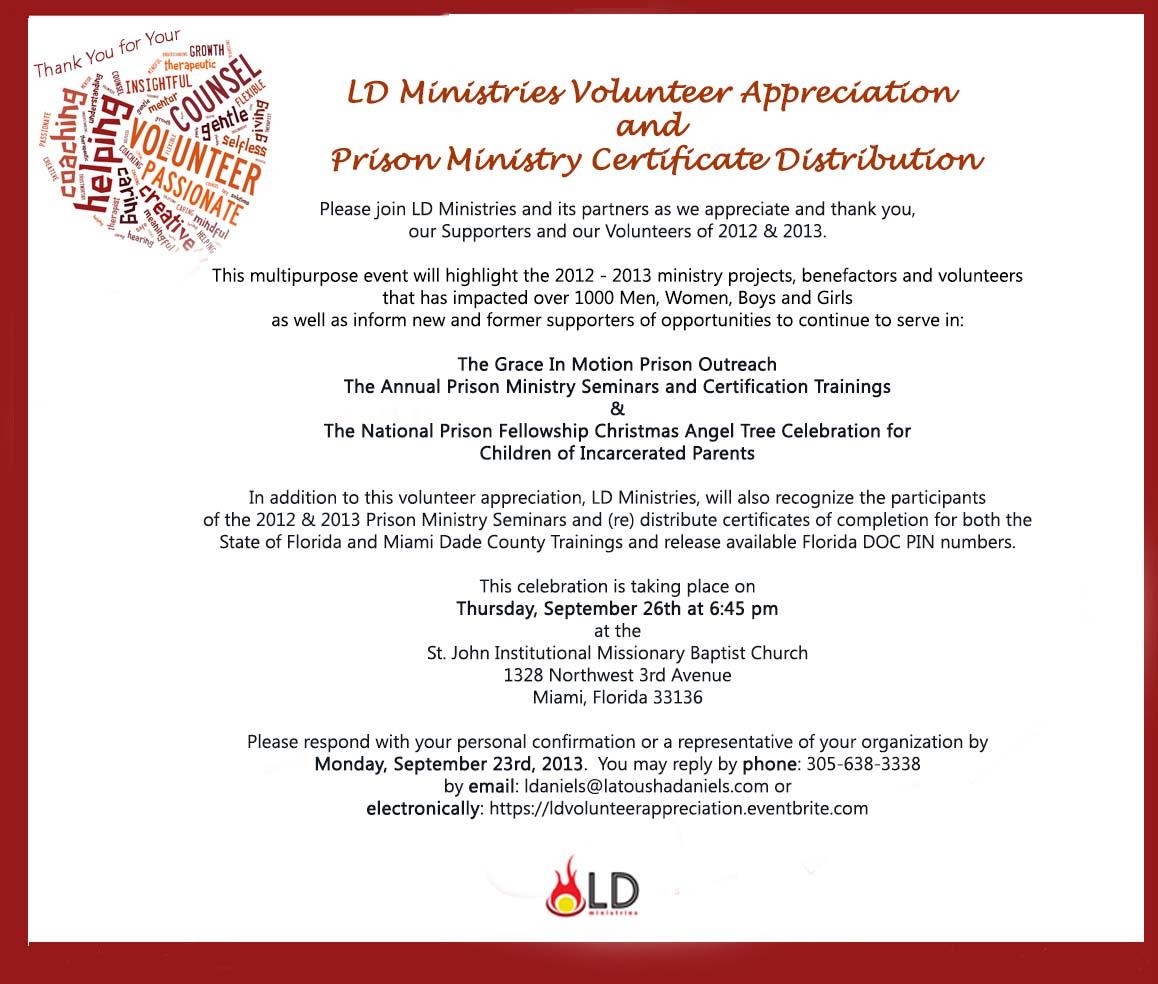 Appreciation Invite