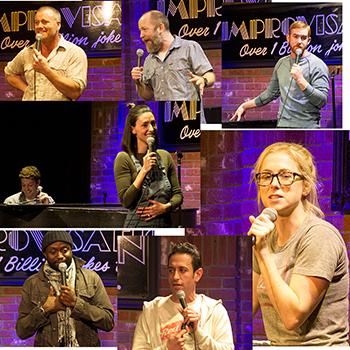 comedian Brian Moreno and Friends