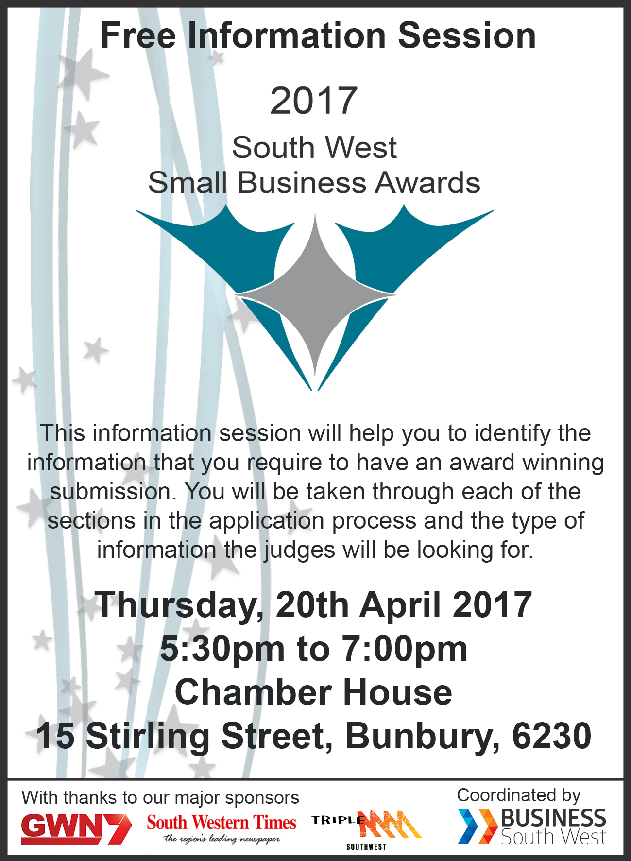 Bunbury Information Session