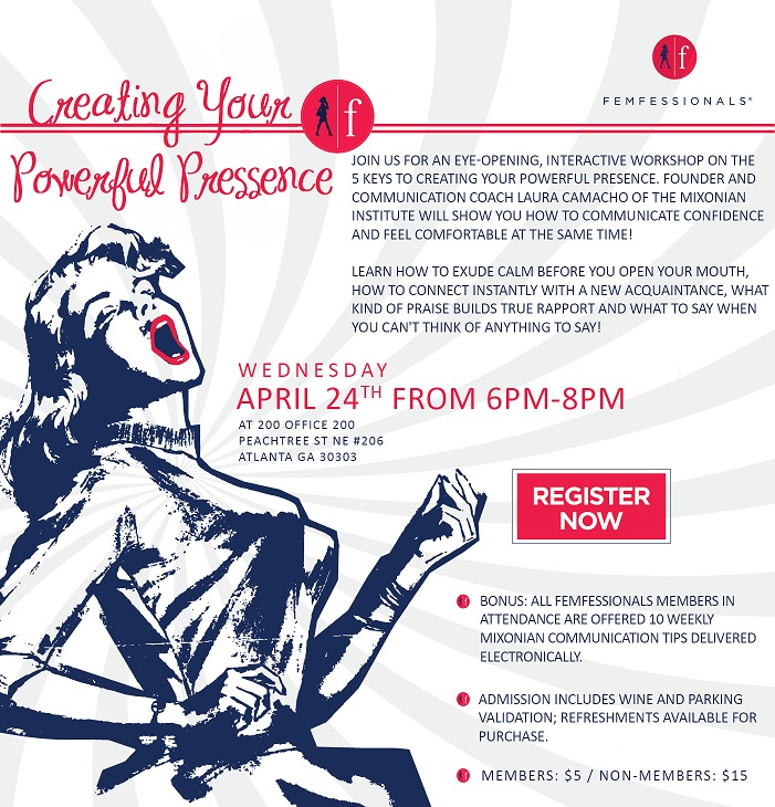 Creating Your Powerful Presence Flyer