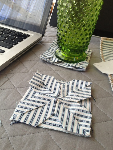 No Sew Coaster