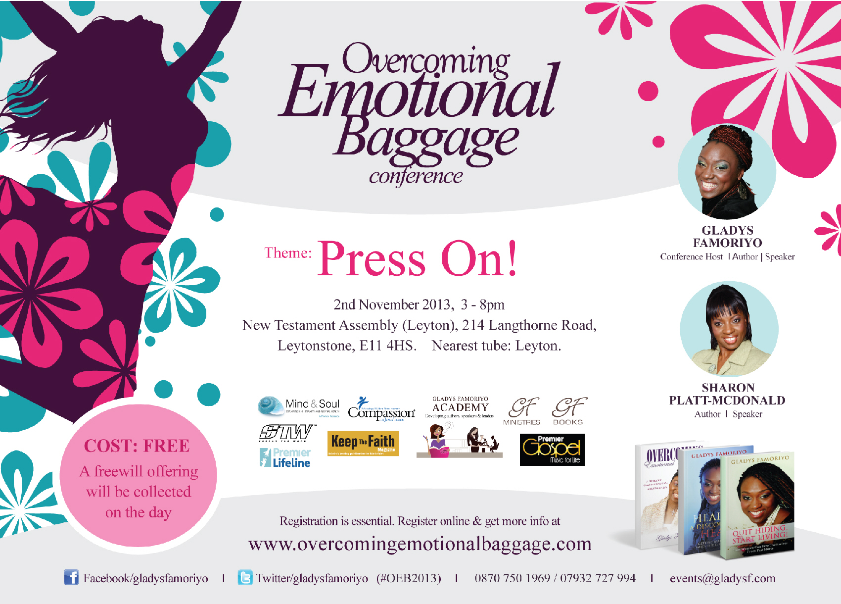 Overcoming Emotional Baggage 2013 Gladys Famoriyo