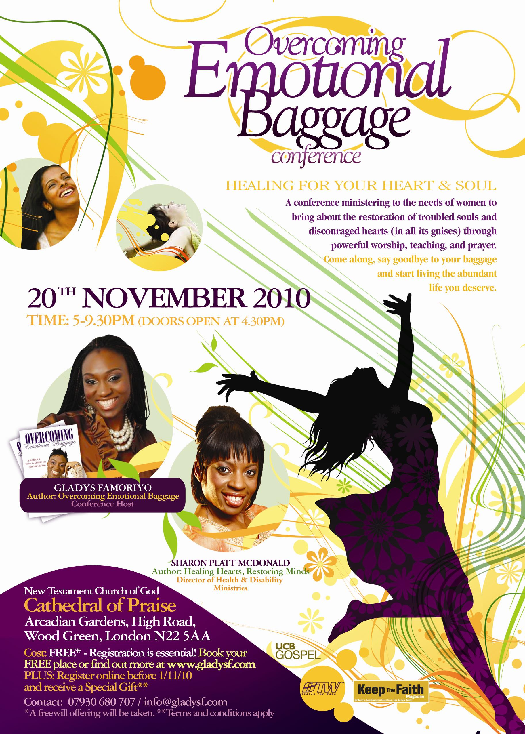 Overcoming Emotional Baggage Conference