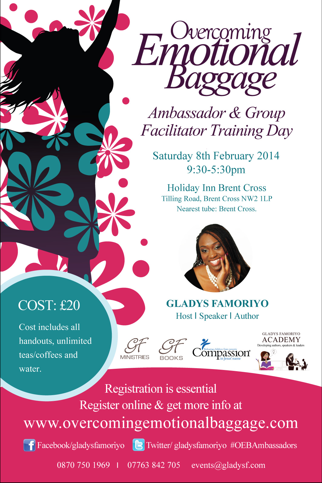 Overcoming Emotional Baggage Ambassador Training - Gladys Famoriyo