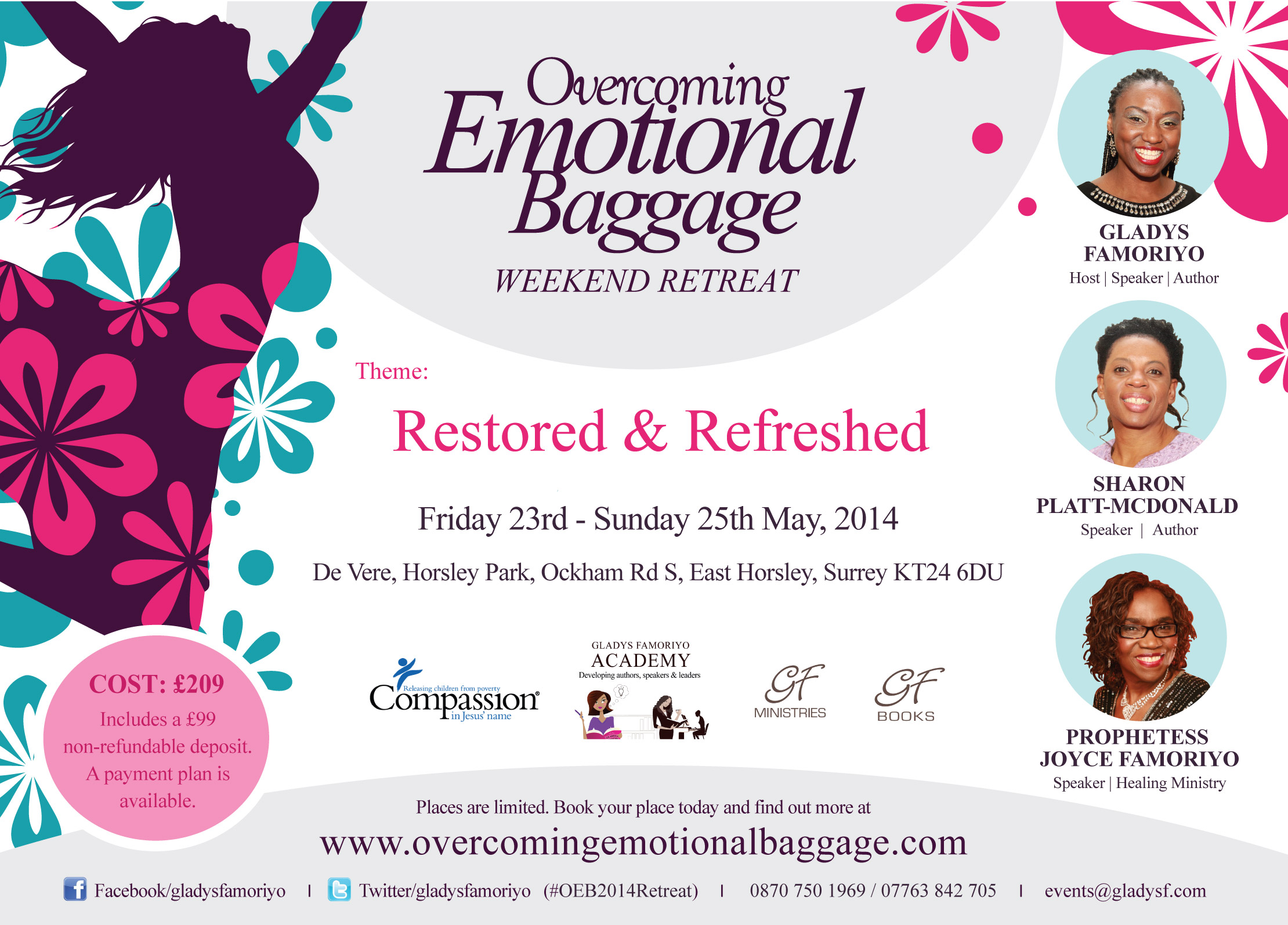OEB Womens Weekend Retreat 2014 Gladys Famoriyo