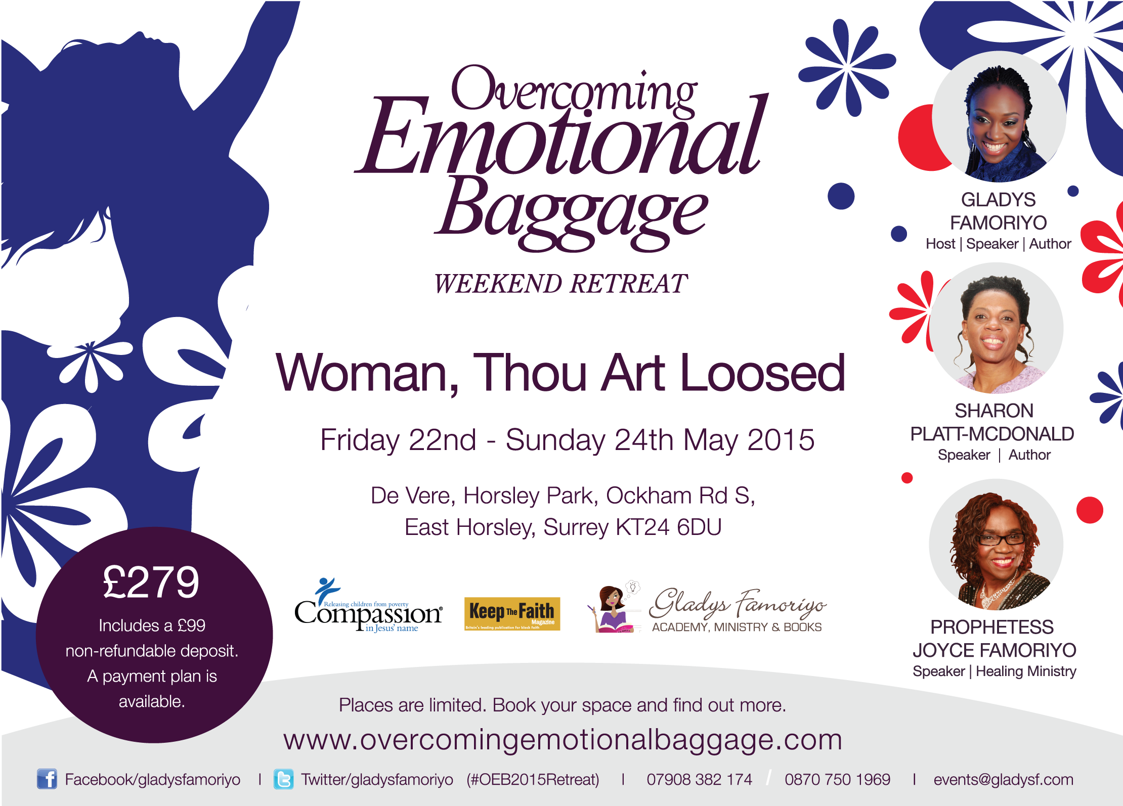 OEB Womens Weekend Retreat 2015 Gladys Famoriyo