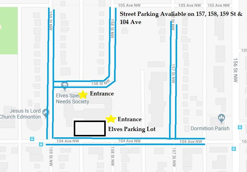 EAYC parking map