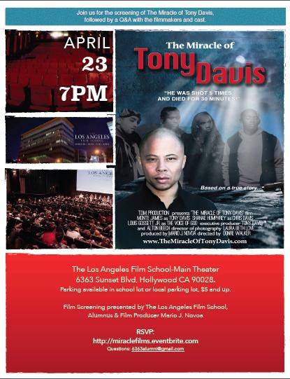 The Miracle of Tony Davis