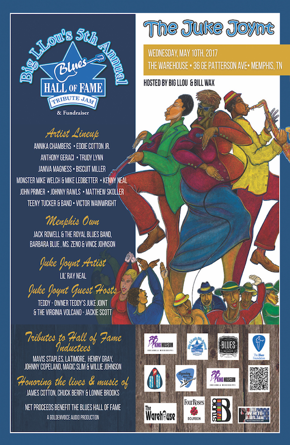 Blues Hall of Fame Tribute Jam Poster