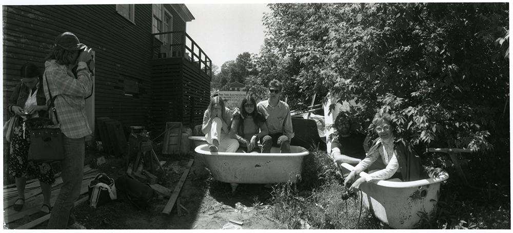 Folks in tubs