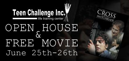 FREE OPEN HOUSE & Exclusive Viewing of the movie: THE CROSS AND...