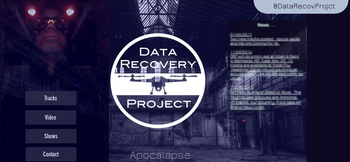 Villain and Saint Featured Electronic Artist Data Recovery Project
