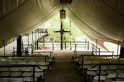Hillside Terrace, Outdoor Ceremony/Reception Area