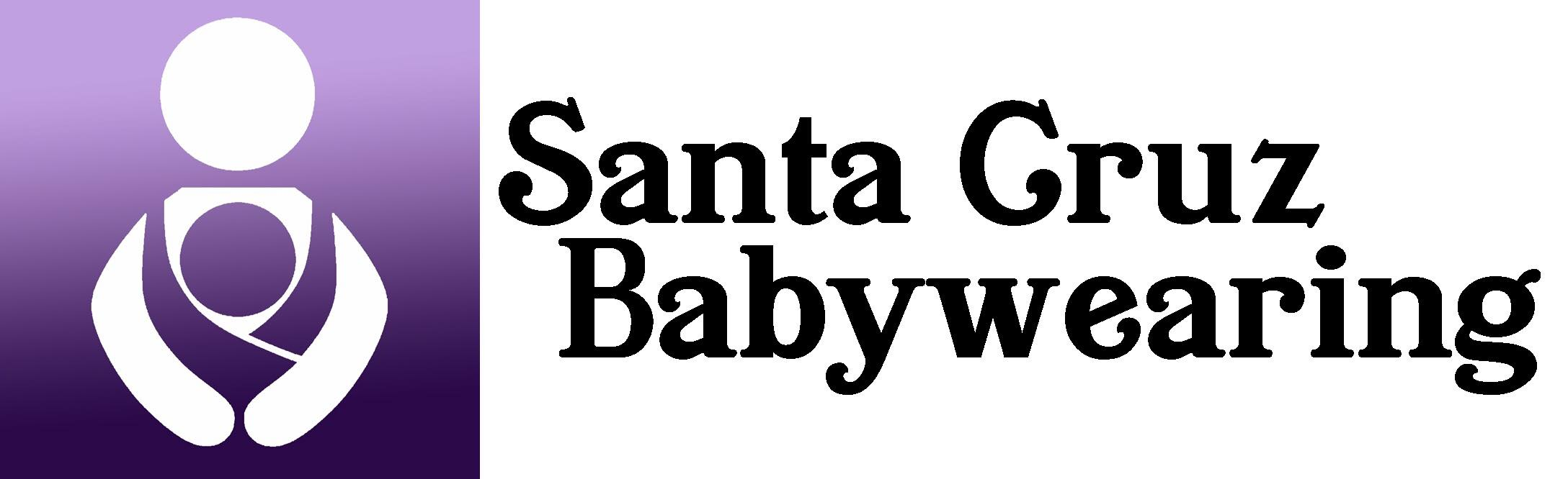 santa cruz baby wearing logo