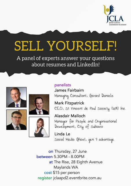 sell yourself insider tips on resumes and linkedin