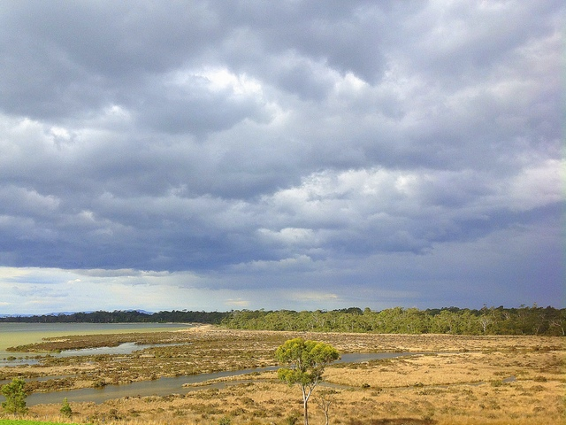 Lutregala Marsh in landscape context