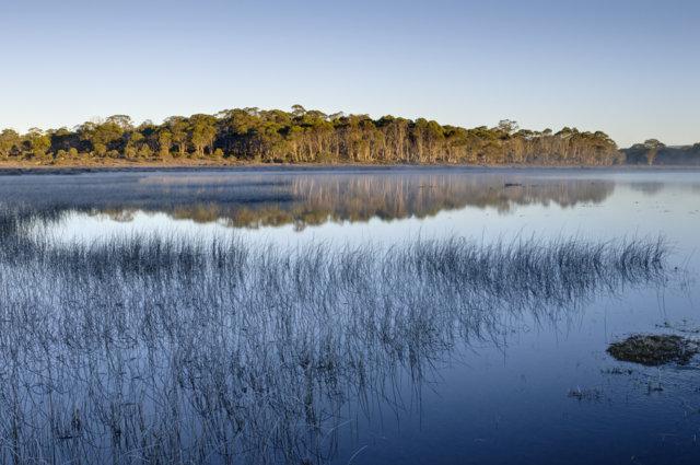 Skullbone plains lake refection