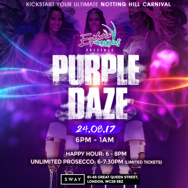 Purple Daze 24.08.2017