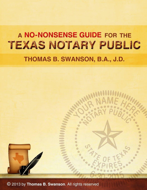 Public Notary textbook