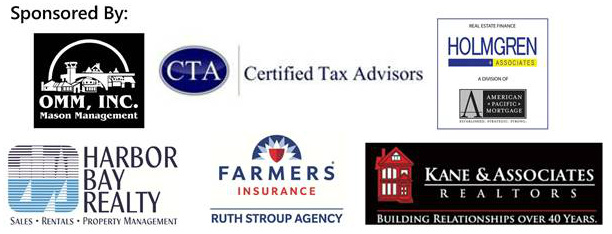 OMM, Certified Tax Advisors, Holmgren and Associates, Kane and Associates, Ruth Stroup Agency, Harbor Bay Realty