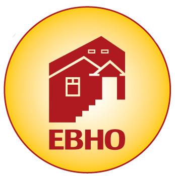 Logo of EBHO, East Bay Housing Organizations