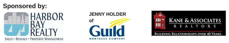 Sponsors - Harbor Bay Realty, Jenny Holder of Guild Mortgage, Kane and Assoc