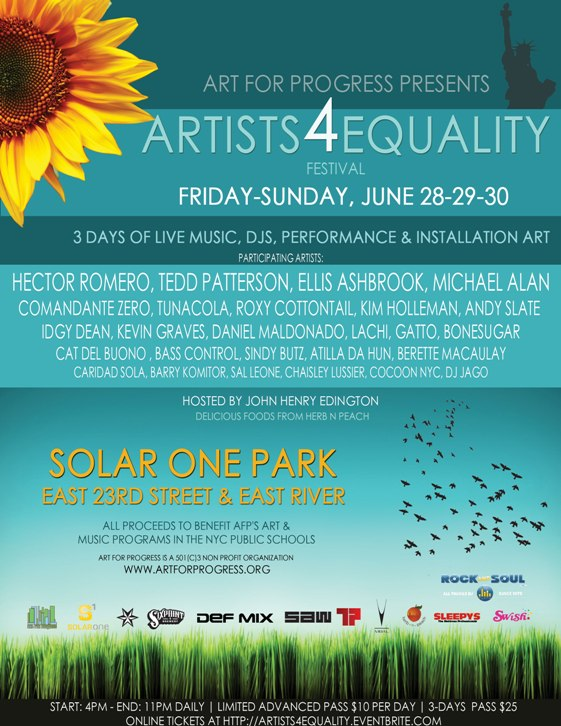 Artists4Equality Invite