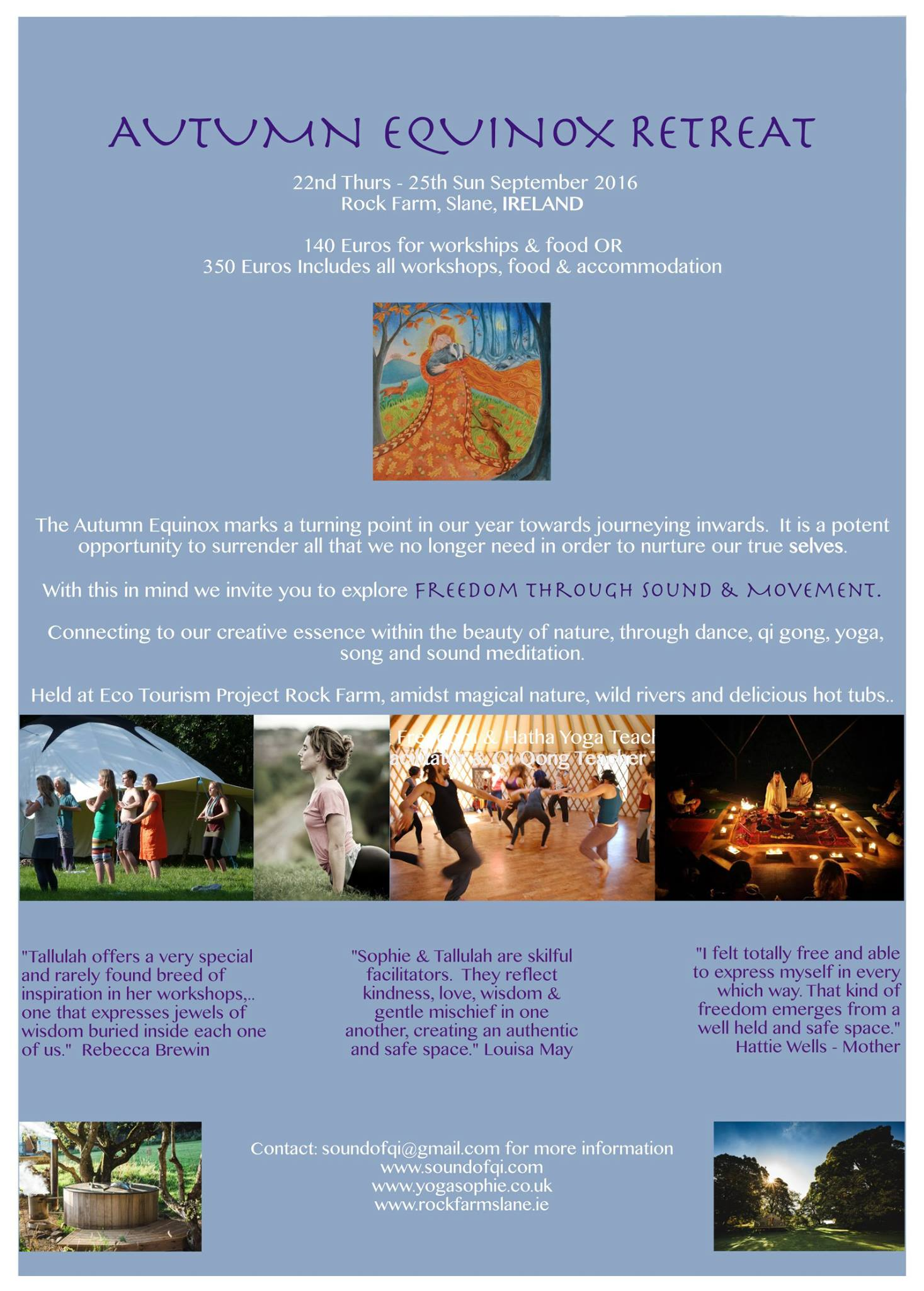Autumn Equinox Yoga Retreat
