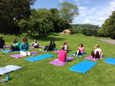 Yoga at Rock Farm Slane