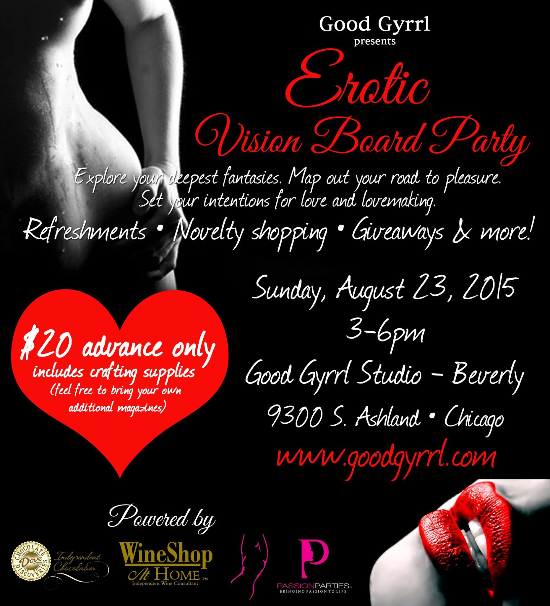 Erotic Vision Board Party