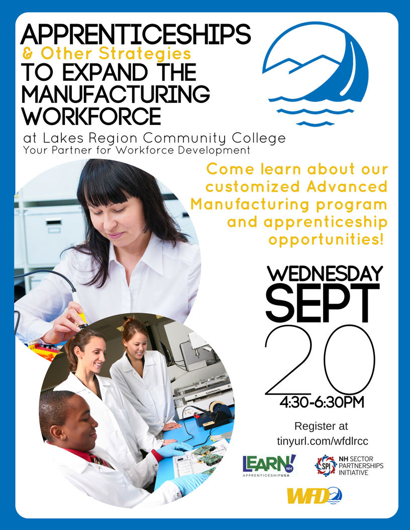 Sept20 LRCC Manuf-Apprenticeship Event Flyer