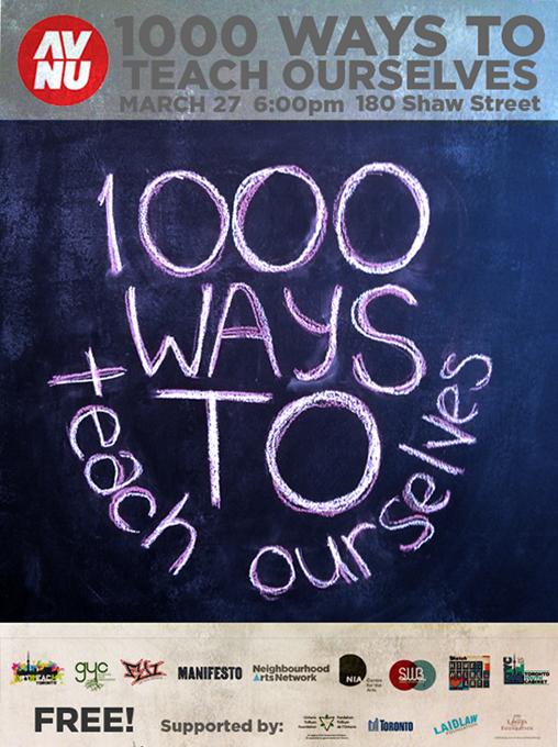 1000 Ways Flyer