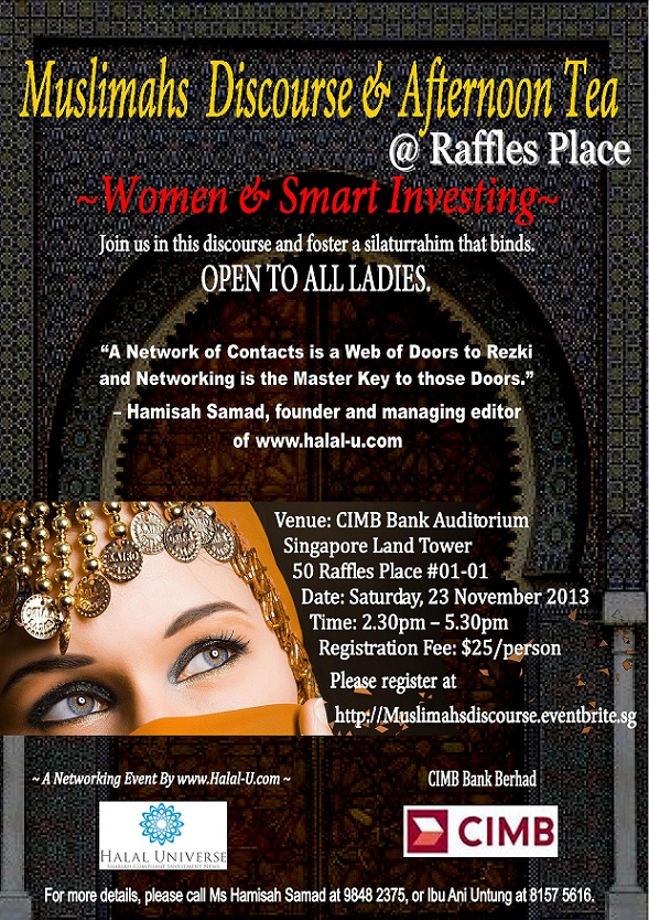 Halal Universe Networking Event for Women