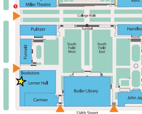 Lerner Entrance Map