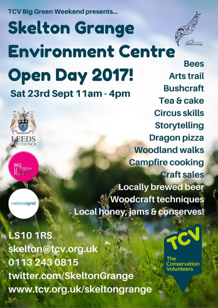 TCV Skelton Grange Open Day 2017