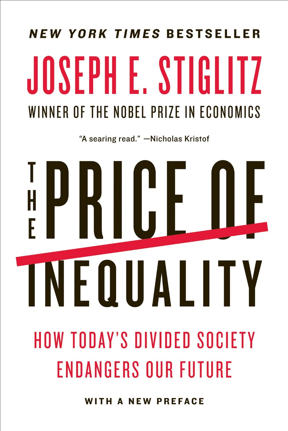 The Price of Inequality book cover