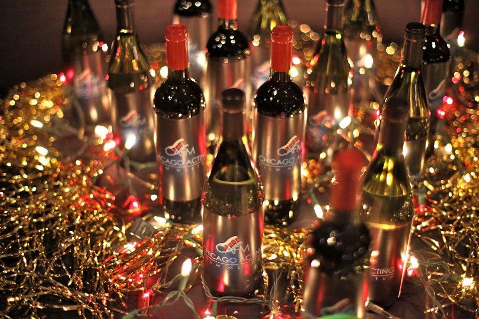 CAFM Wine Bottles-Get your drink ticket Dec. 12!