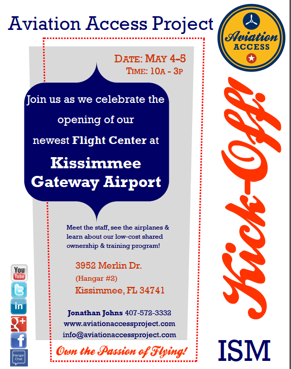 Kissimme Flight Center Celebration May 4-5