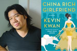Kevin Kwan and his book China Rich Girlfriend
