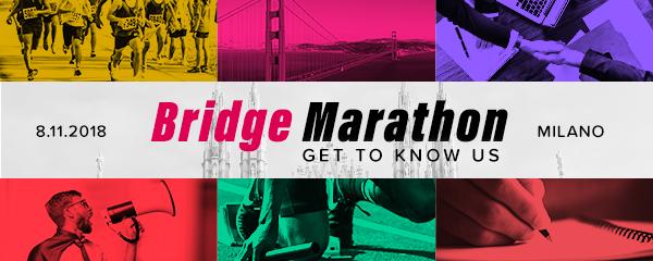 Bridge Marathon 2018 - Ti aspettiamo in palestra