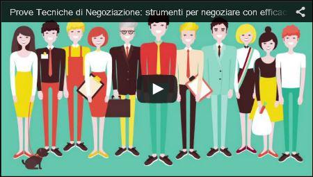 Prove Tecniche di Negoziazione: strumenti per negoziare con efficacia