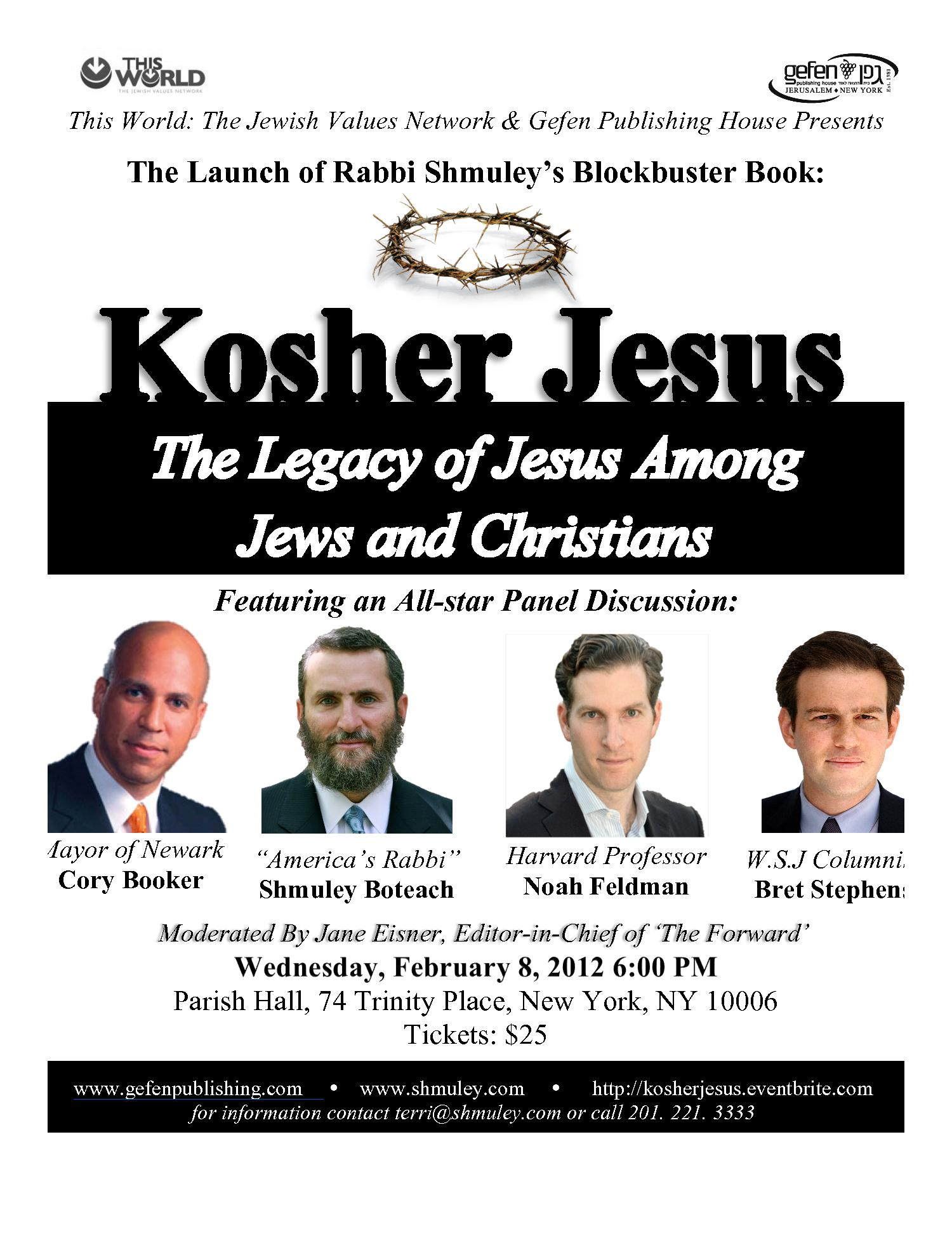 Kosher Jesus The legacy of jesus among jews and chirstians
