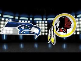 Seattle Seahawks vs. Washington Redskins NFL Playoffs Game...