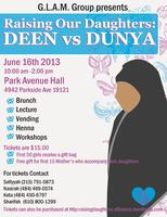 Raising Our Daughters:  Deen vs. Dunya
