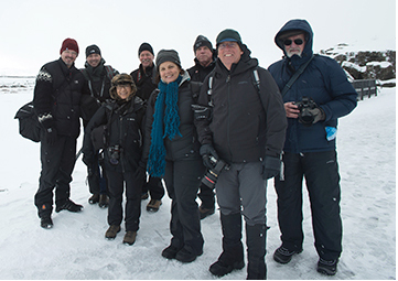 Iceland expedition group an 3 guides