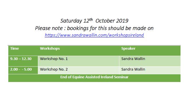 Seminar schedule day 2